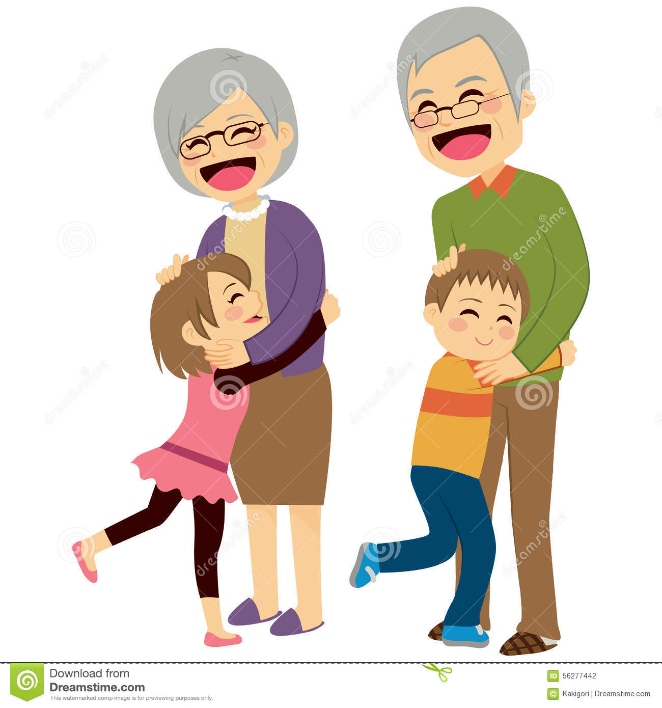 Happy Grandparents Day Clipart
