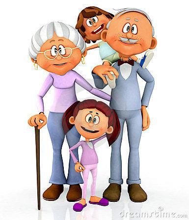 385x450 Clipart + Grandparents