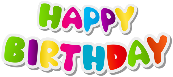 600x266 Happy Birthday Text Png Clip Art Imageu200b Gallery Yopriceville