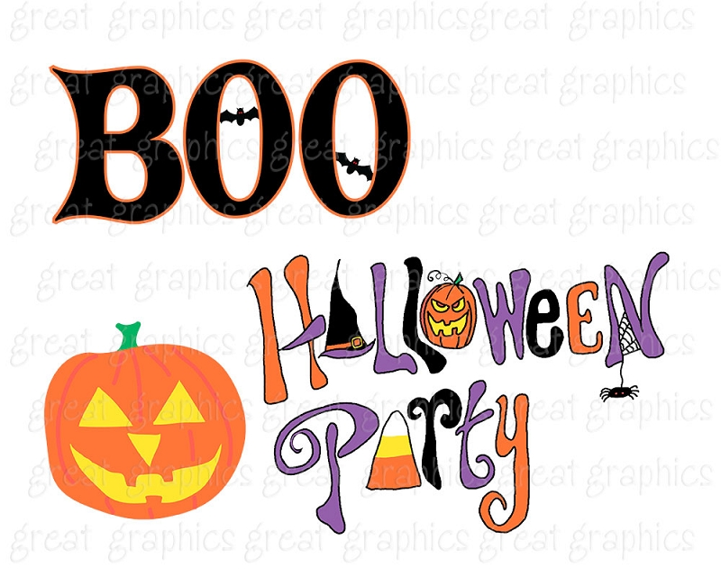 800x640 Halloween Party Clipart Clipartlook