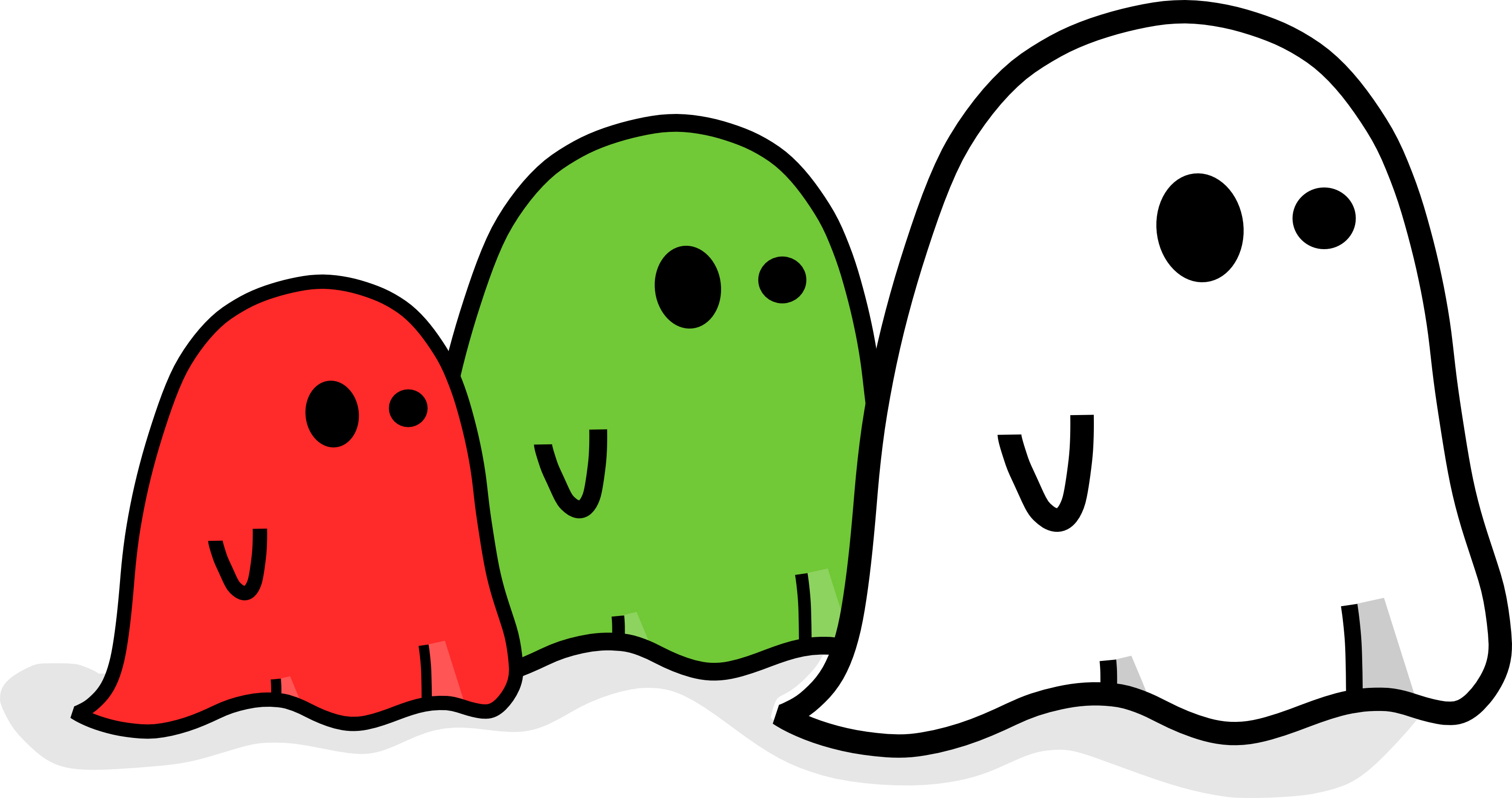 3200x1688 Cute Happy Halloween Clipart Color Collection