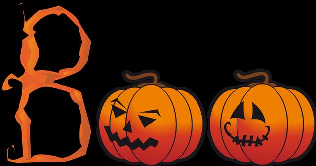 640x336 Great Clip Art For Halloween Halloween Boo Word Art Halloween