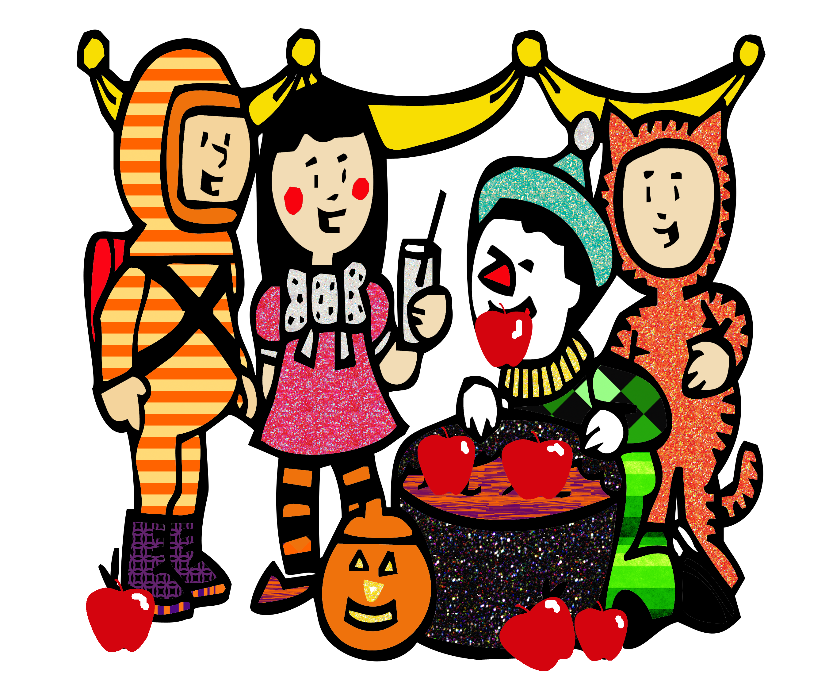 2717x2263 Halloween Clip Art Images Free Clipart 4