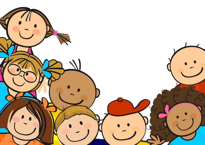 800x567 Happy Kids Clipart