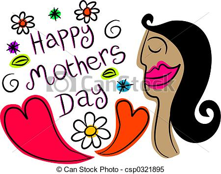 450x354 Happy Mothers Day Design Stock Illustrations