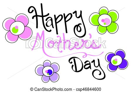 450x313 Happy Mothers Day Vector Clipart