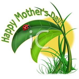 300x300 Clip Art Of Happy Mother's Day Garden