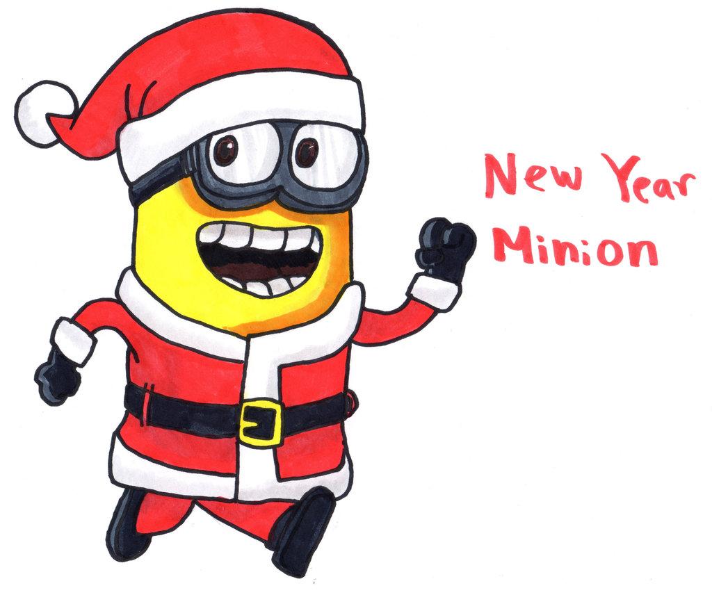 1024x856 New Year Clipart Minion