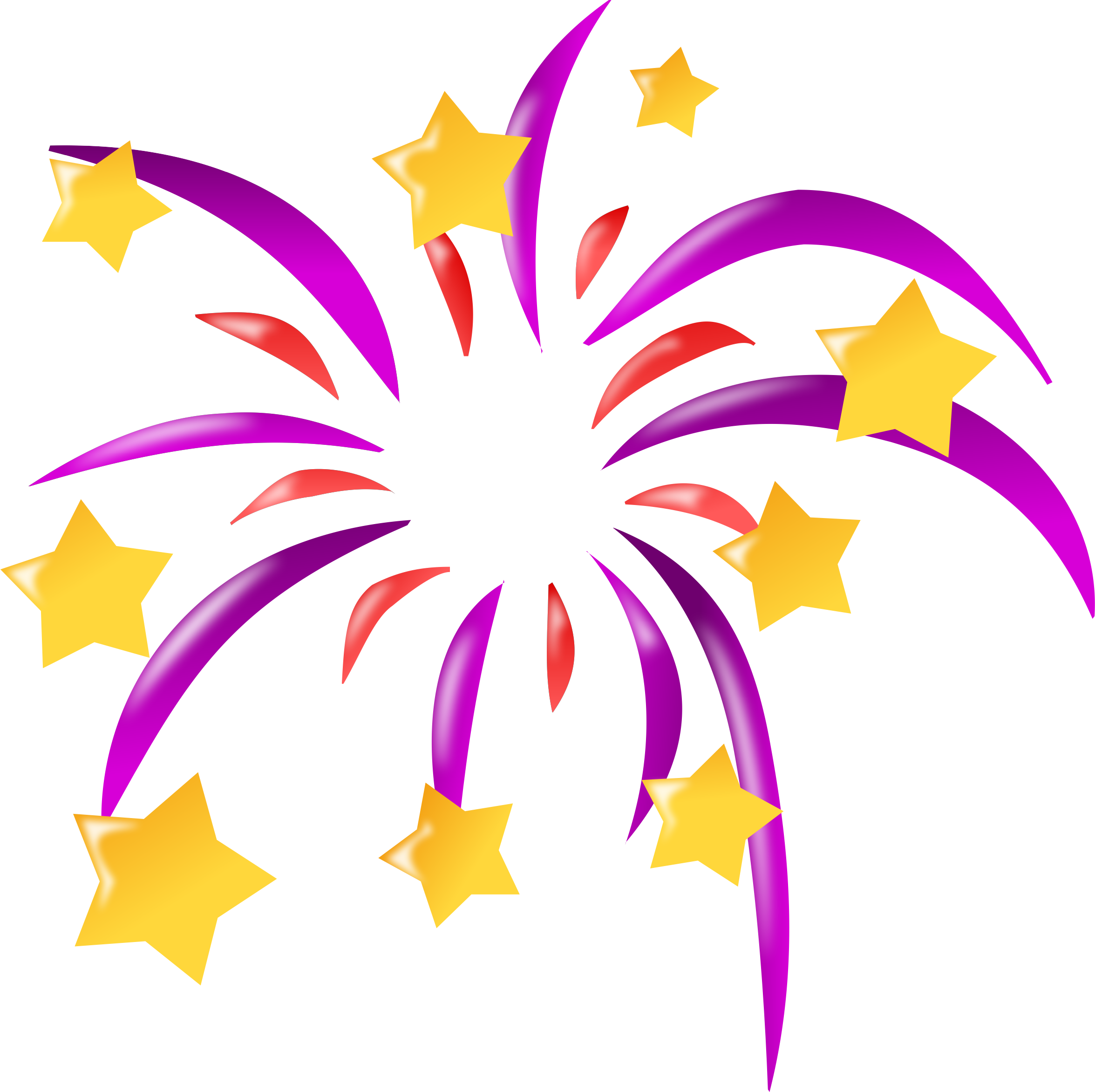 2351x2344 Firework Clip Art