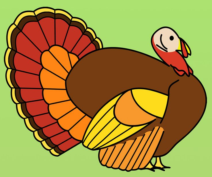 736x616 Funny Turkey Clipart Image Group 82