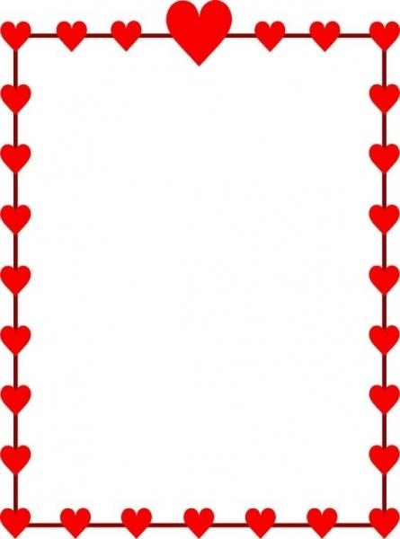 445x600 Happy Valentine's Day Heart Clip Art Designcorner