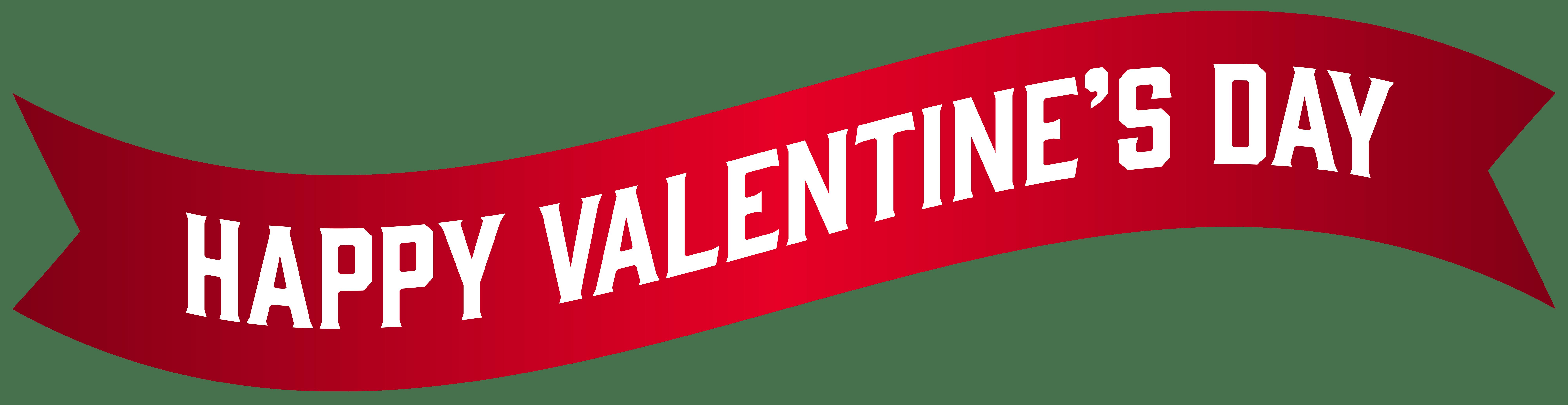 8000x2069 Valentines Day Clip Art Banner Valentine's Day Info