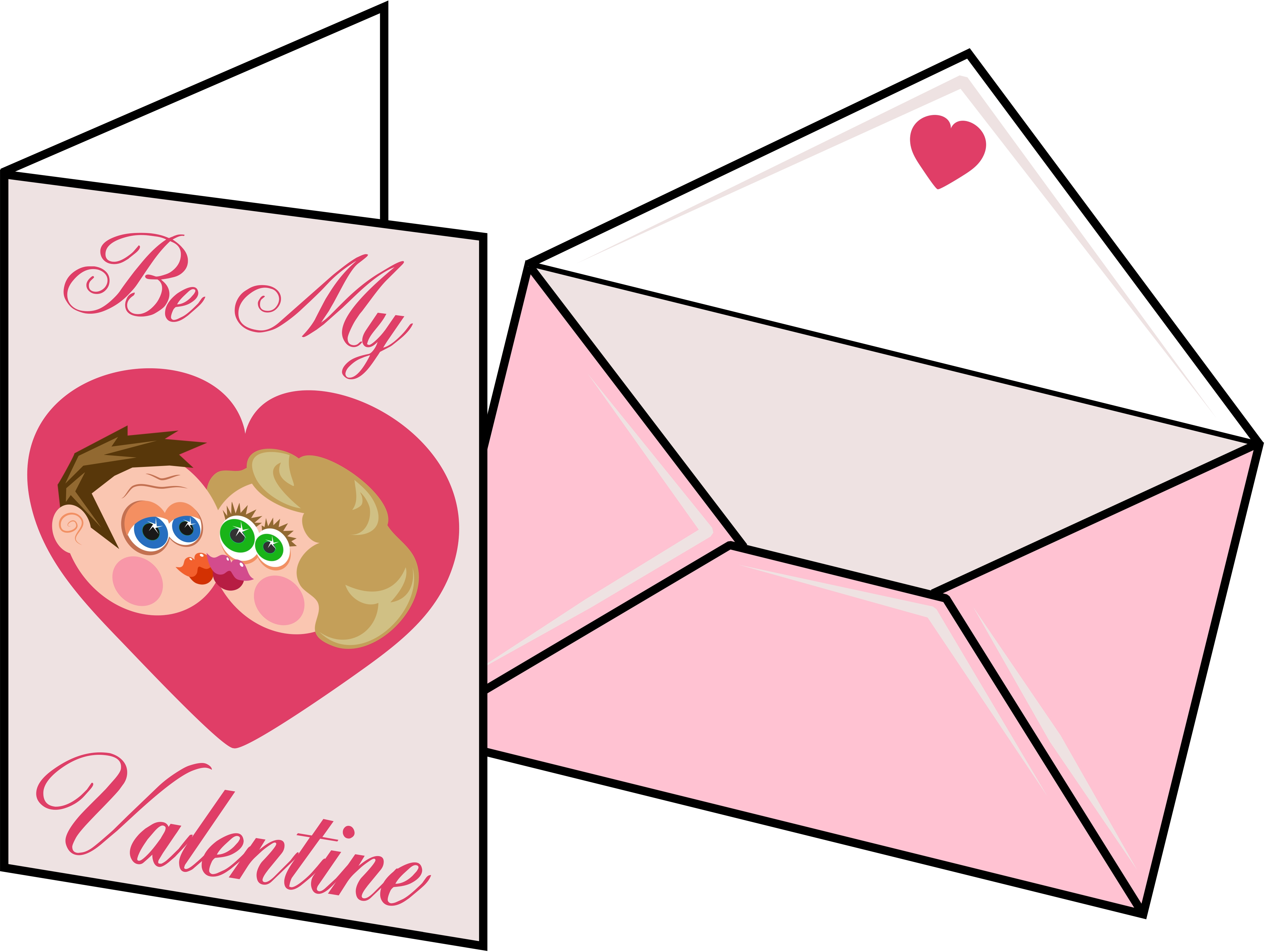 4169x3138 Valentine Card Clipart Valentines Card Free Images