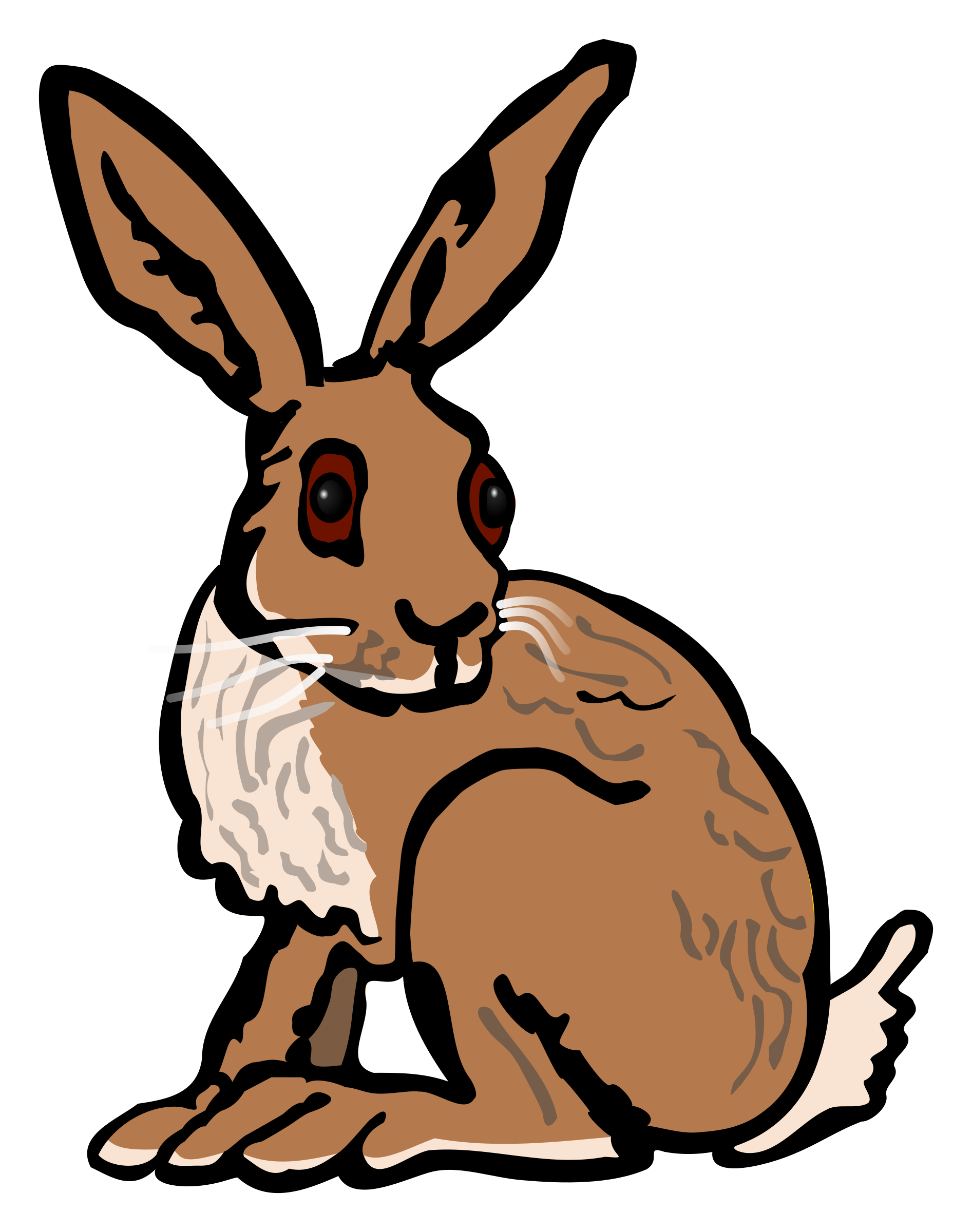 1893x2400 Top 80 Hare Clipart