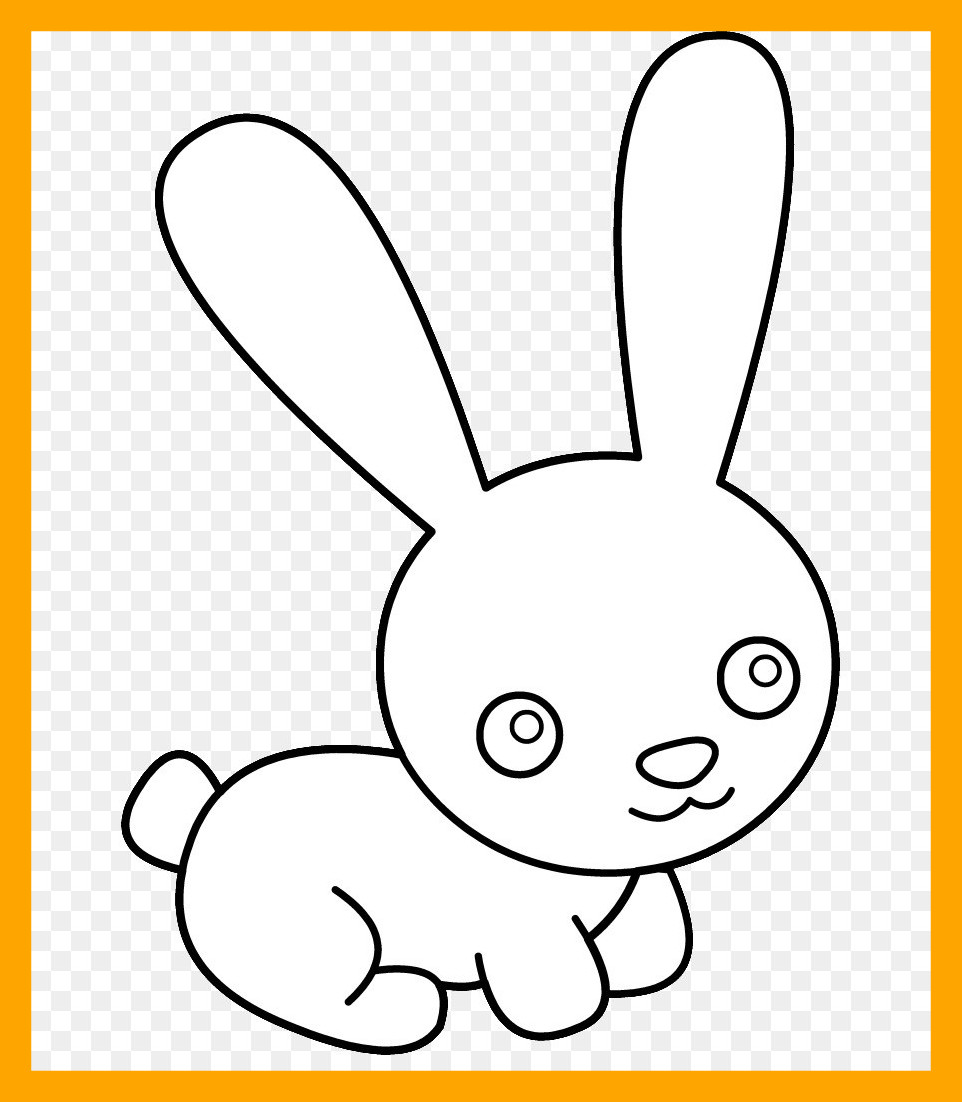 962x1102 Amazing Easter Bunny Hare Rabbit Clip Art Clipart Png Pic Of Line