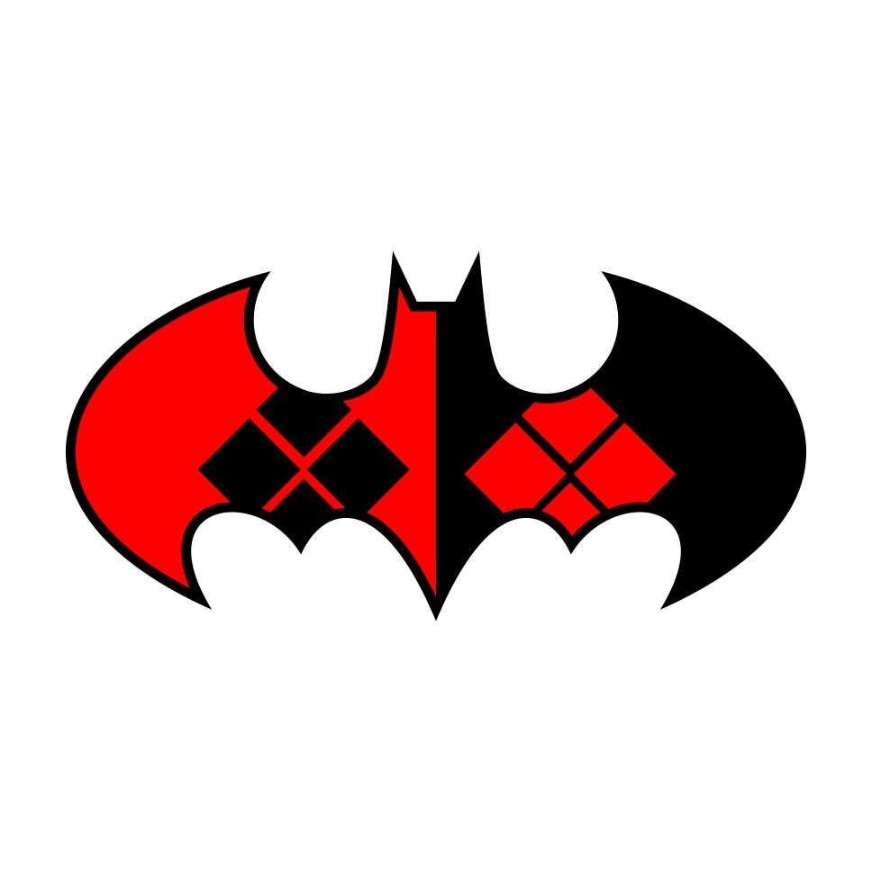 968x968 Harley Quinn Batman Graphics Svg Dxf Eps Png Cdr Ai Pdf Vector Art