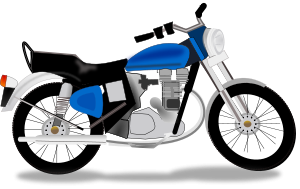 300x189 Motorcycle Clipart Free