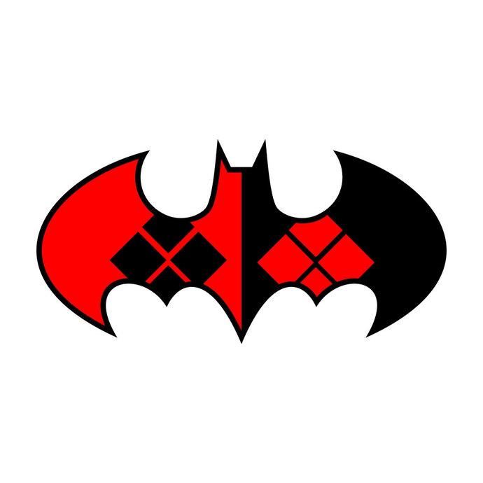690x690 Harley Quinn Batman Graphics Design Svg Dxf By Vectordesign On Zibbet