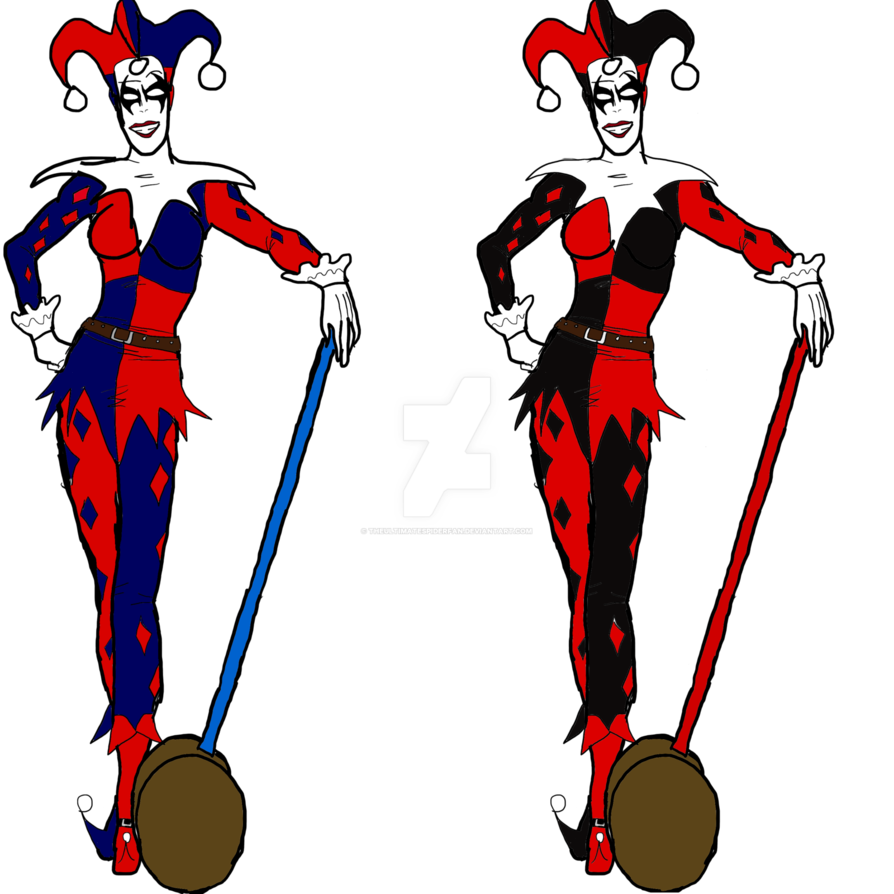 894x894 Omegaverse Harley Quinn By Theultimatespiderfan