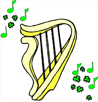 336x350 Harp Clip Art