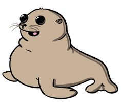 236x205 Cute Seal Art