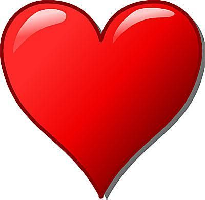 400x390 Heart Image Clipart Amp Look At Heart Image Clip Art Images