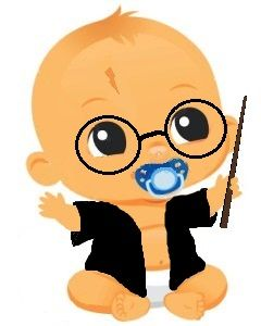 240x300 Harry Potter Baby Clipart
