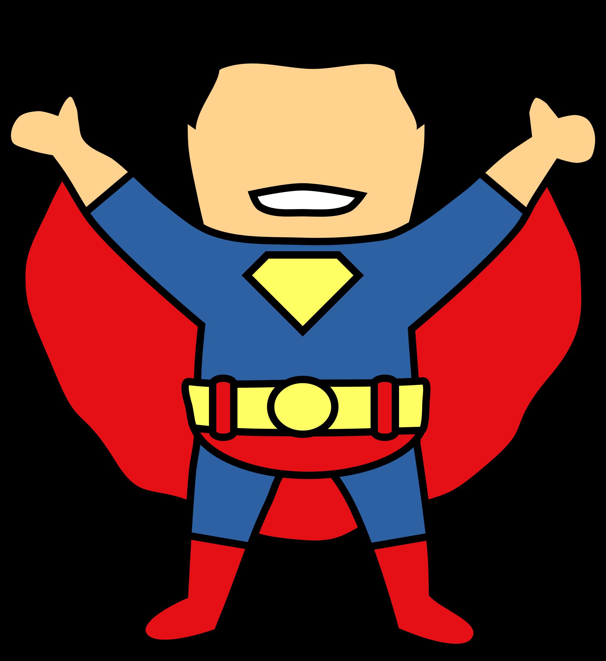 2000x2182 Superman Clip Art