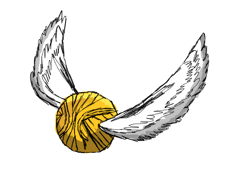800x600 Harry Potter Golden Snitch Clip Art Free Image