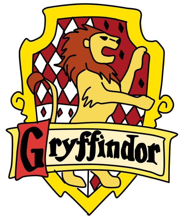 600x720 Gryffindor Logo Clipart Collection