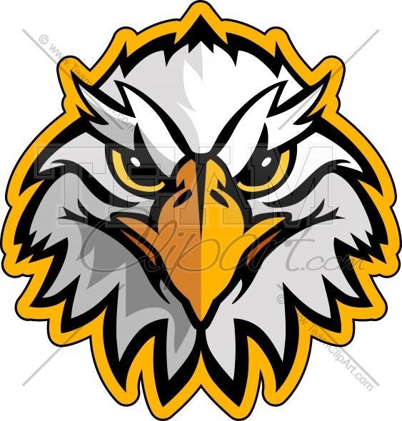 563x590 Eagle Mascot Clipart Free Download Clip Art