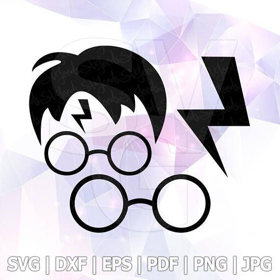 570x570 Harry Potter Cut File Svg Dxf Jpg Png Eps Vector Format Files