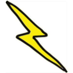 300x300 Harry Potter Lightning Bolt Clipart