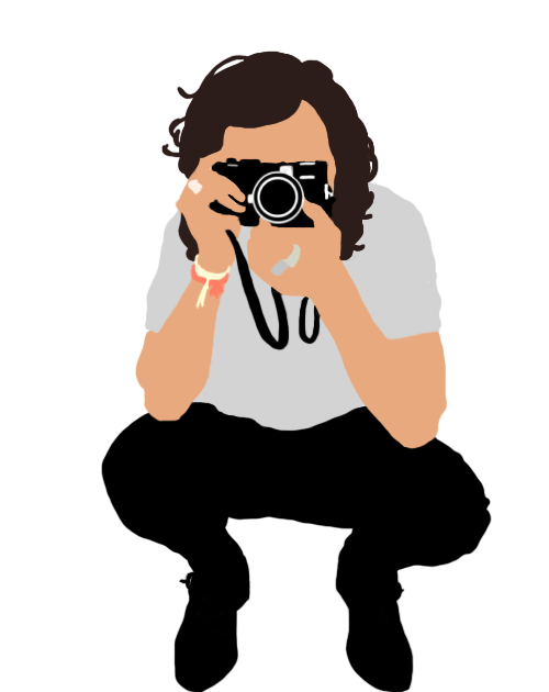 500x630 Harry Styles Vector Illustration By Grungevizi