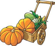 236x195 Fall Harvest Clipart