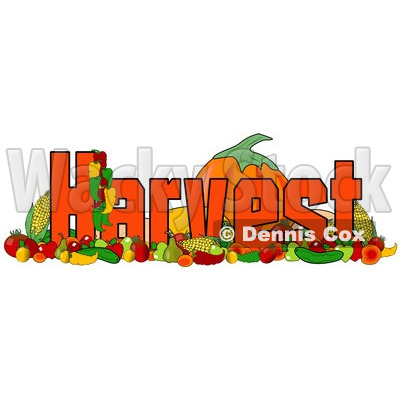 400x400 Harvest Clip Art Free Of Produce And The Word Harvest Royalty Free