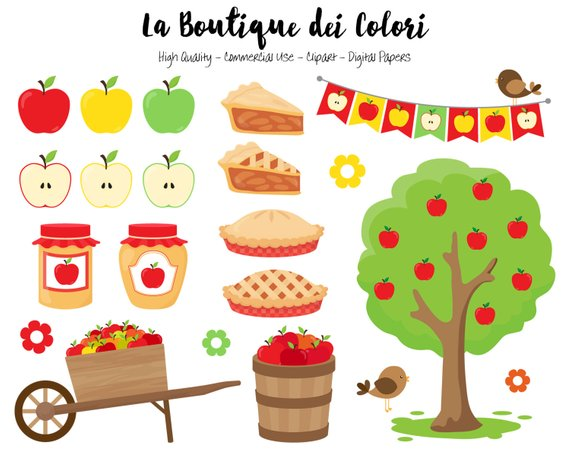 570x453 Apple Picking Clipart, Cute Illustrations Png, Fall, Autumn