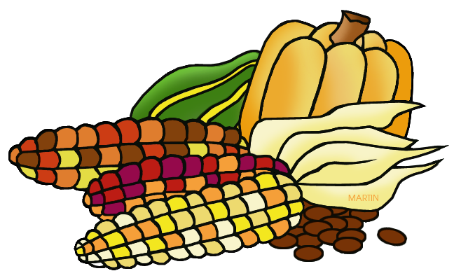 648x397 Colonial America Clip Art By Phillip Martin, Harvest Food