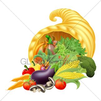 325x325 Cornucopia Clipart Harvest Crop