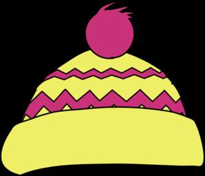 298x255 Pink Winter Hat Clip Art