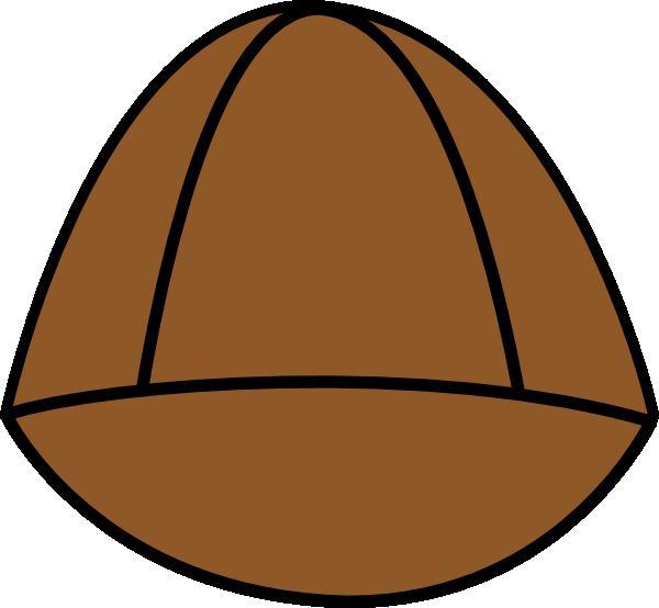 600x554 Plain Brown Hat Png, Svg Clip Art For Web
