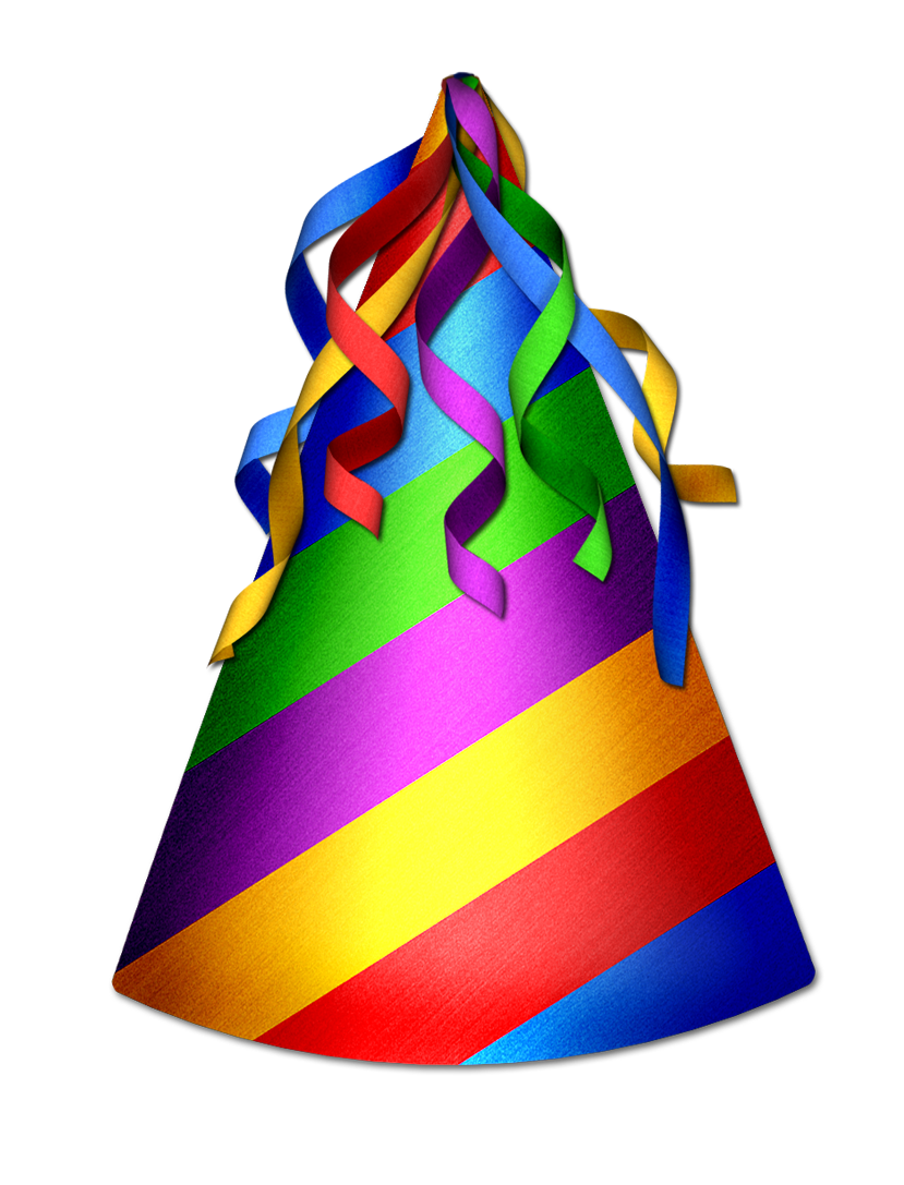 829x1087 Party Hat Clipart Transparent Background