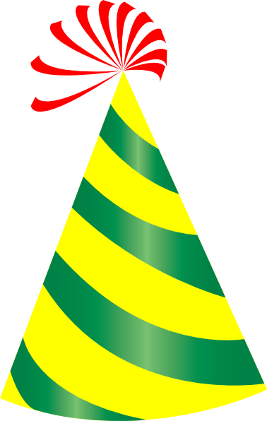 378x596 Birthday Hat Clipart Transparent Background Collection