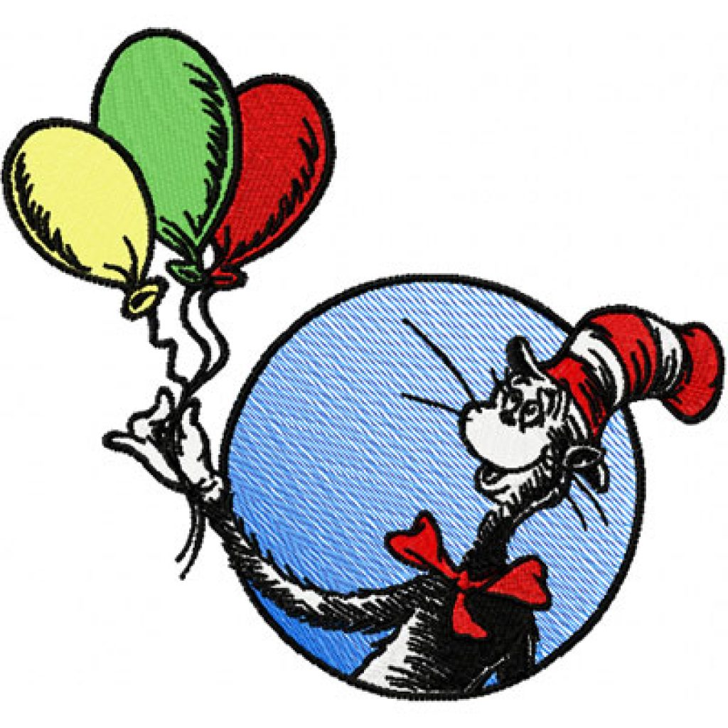 1024x1024 Cat In The Hat Clipart Free