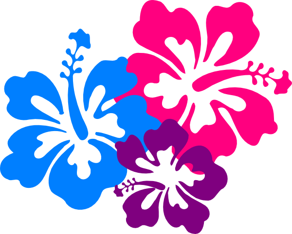600x482 Hawaiian Flowers Clip Art Free Clipart Images
