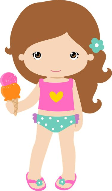 Hawaiian Girl Clipart