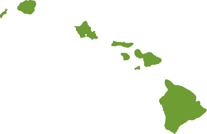 800x521 Hawaiian Islands Clip Art Transparent