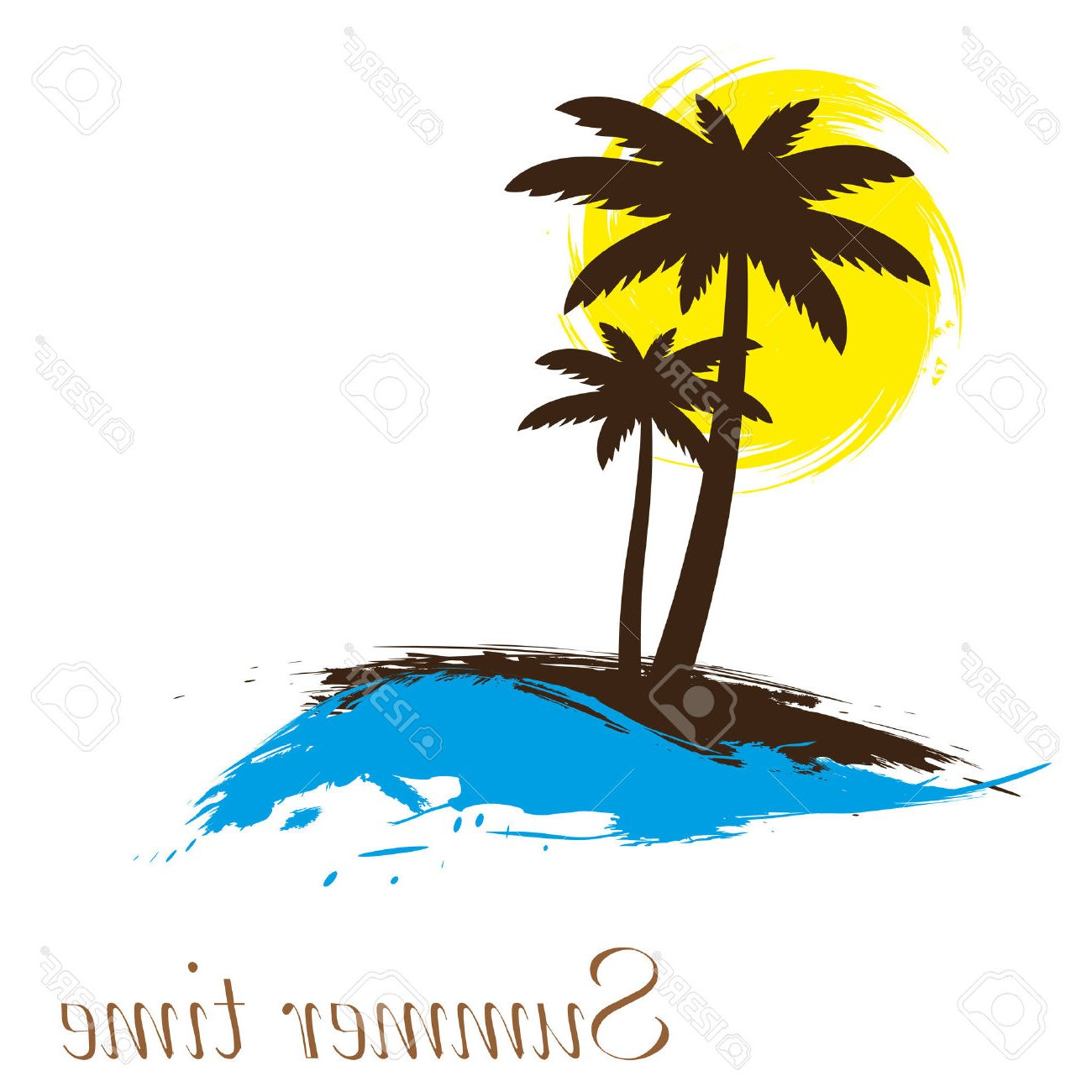 1300x1300 Island Clipart Hawaii Beach Many Interesting Cliparts