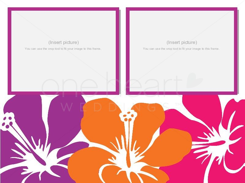 800x600 Luau Theme For Powerpoint Hawaiian Wedding Powerpoint Slide 3 Clip