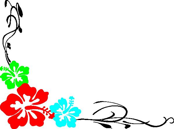 600x444 Luau Theme For Powerpoint Luau Clip Art Borders Free Clipart Panda